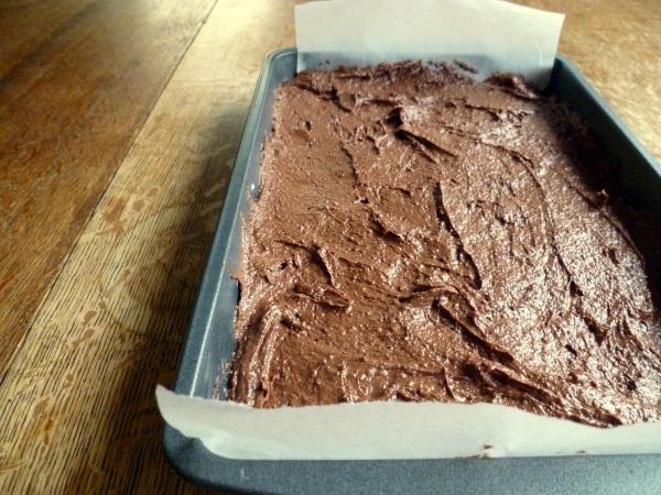 brownie, gluten free, frugal frugality, thrifty, raisins, frugal food