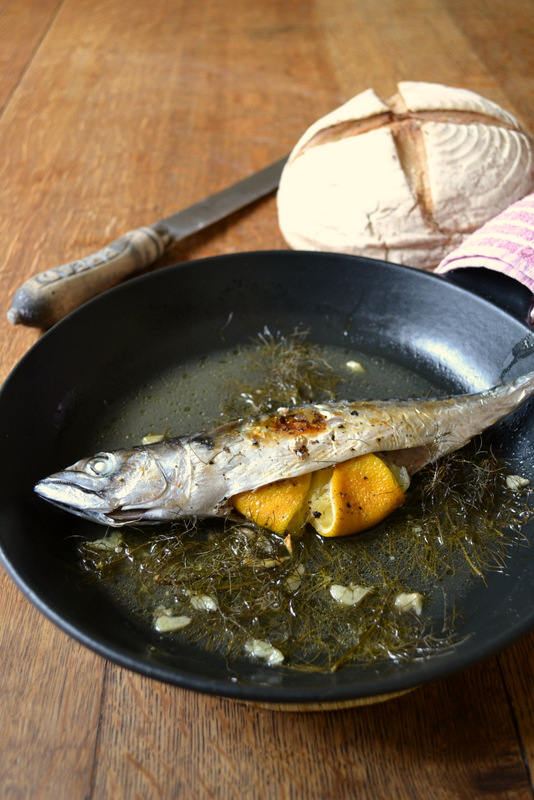 Baked Mackerel Recipe