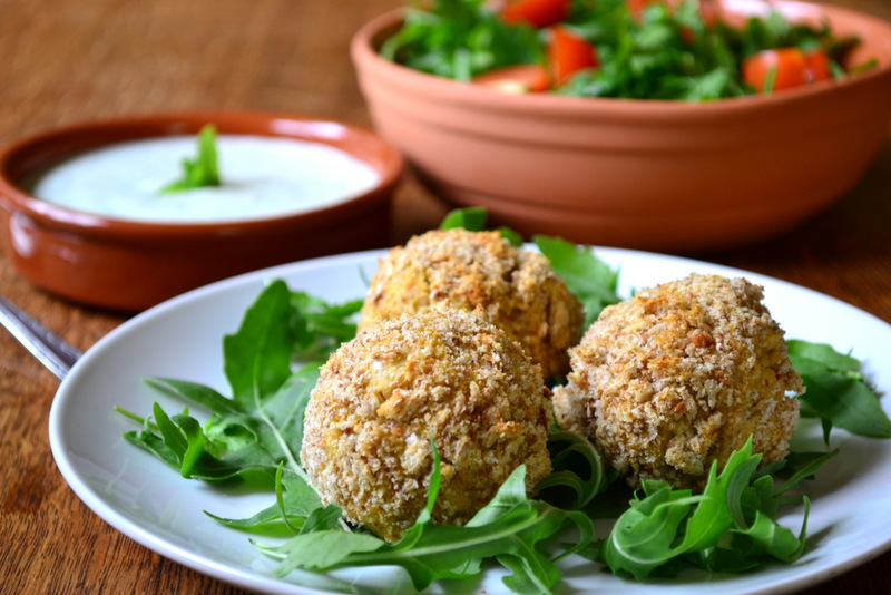 Spicy Baked Falafel Recipe