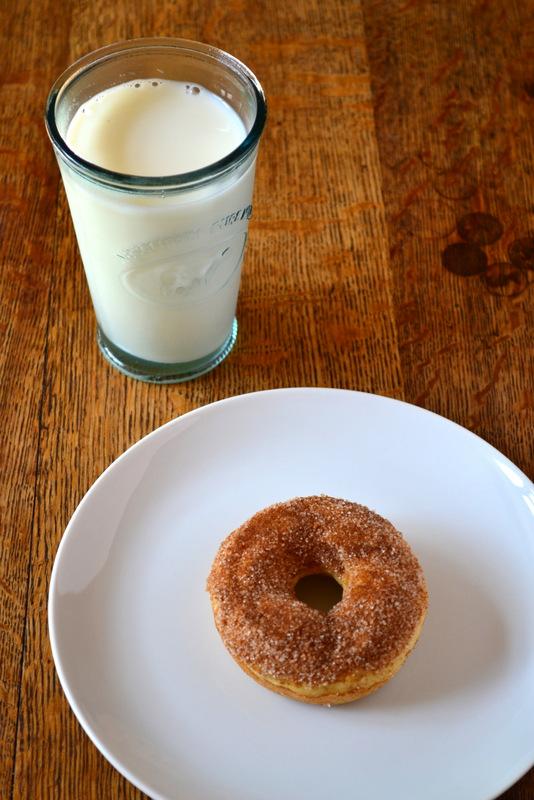 Cinnamon Dipped Doughnuts