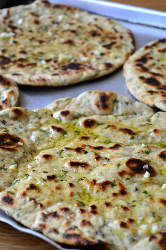 Garlic and Herb Flatbreads