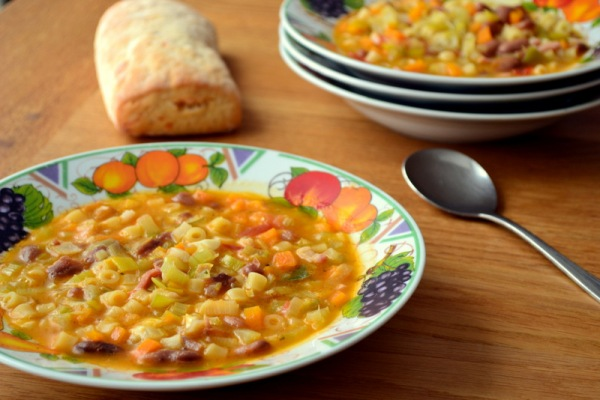 Autumnal Minestrone Recipe