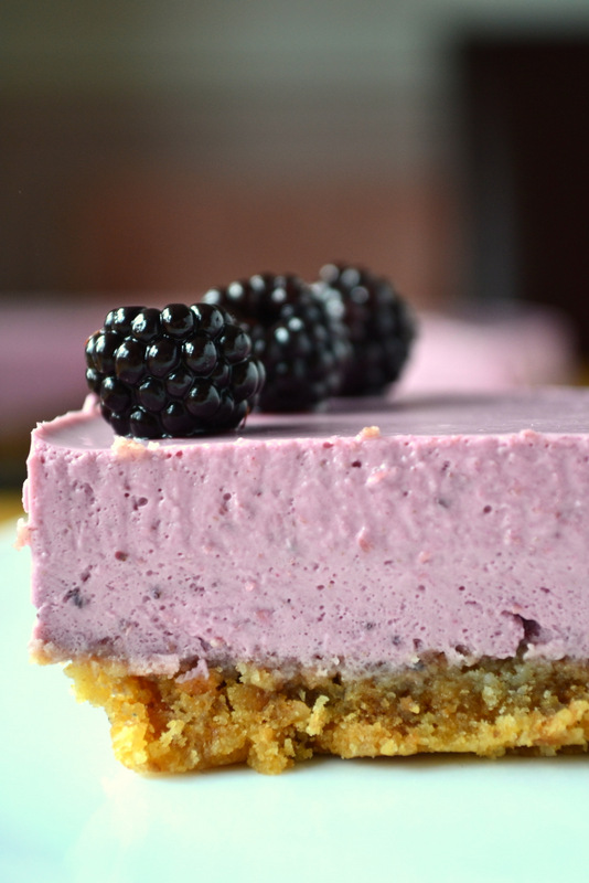 Blackberry Cheesecake - frugalfeeding | Low Budget Family Recipes, UK ...
