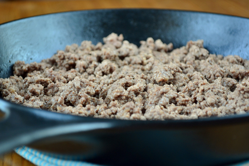 Cooked Minced Beef