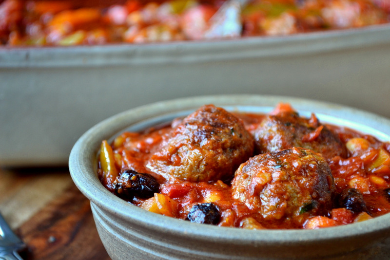 Moroccan Meatballs Tagine Recipe | frugalfeeding