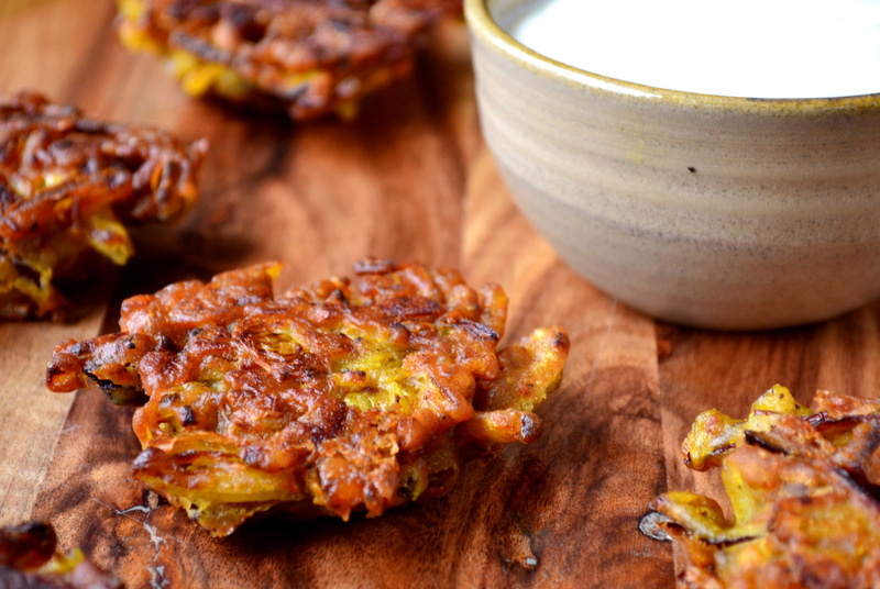 How to make onion bhajis