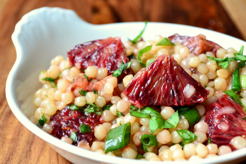 Blood Orange and Couscous Salad